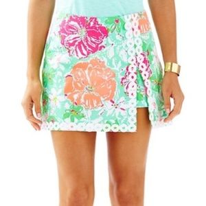 Lilly Pulitzer Beach Walk Lenore Skort